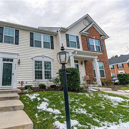 Rent this 3 bed townhouse on 8135 Creekside Village Drive in Mechanicsville, VA 23111