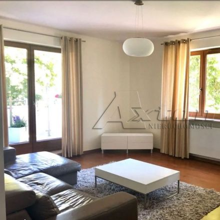 Rent this 3 bed apartment on Giordana Bruna 18 in 02-594 Warsaw, Poland