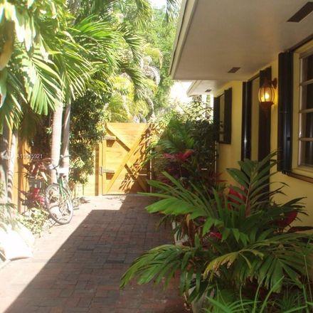 Rent this 2 bed duplex on 2916 Jackson Avenue in Miami, FL 33133