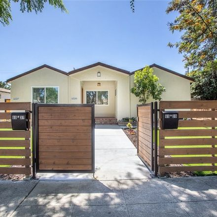 Rent this 4 bed house on 6539 Coldwater Canyon Ave in North Hollywood, CA