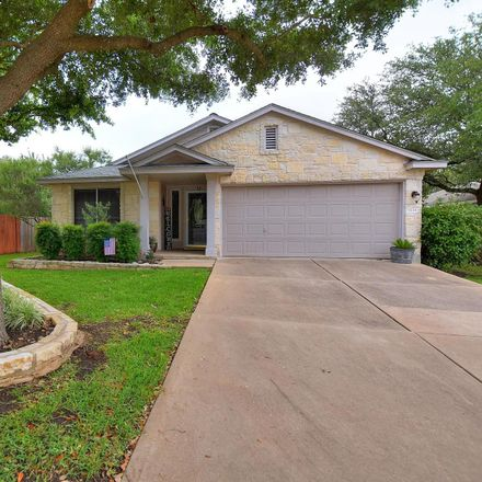 Rent this 3 bed house on Rock Shelf Lane in Round Rock, TX 78681