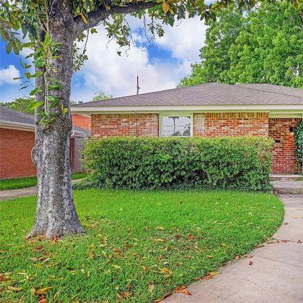 Rent this 2 bed house on 2405 Dorrington Street in Houston, TX 77030
