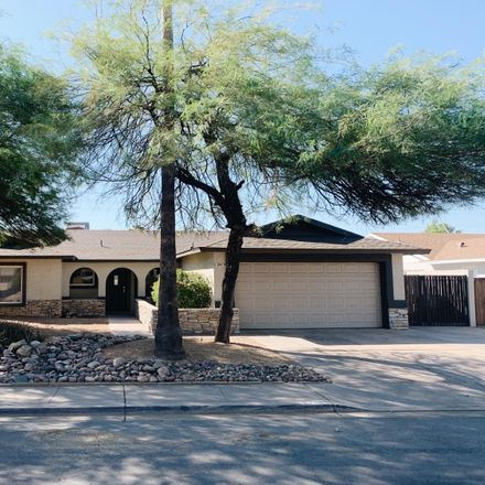 Rent this 4 bed house on 2419 West Naranja Avenue in Mesa, AZ 85202