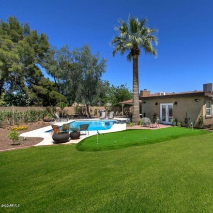 Rent this 5 bed house on 4520 North 87th Street in Scottsdale, AZ 85251