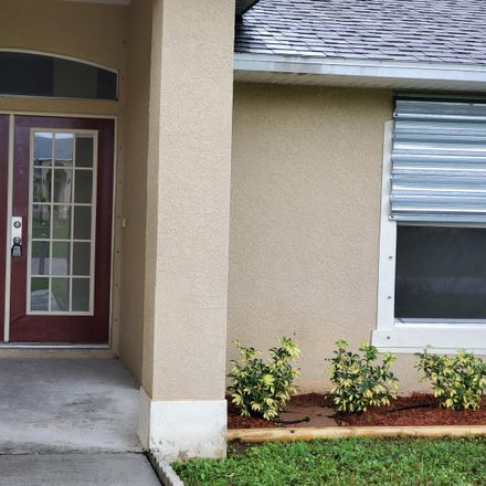 Rent this 3 bed apartment on Brescia St NE in Palm Bay, FL