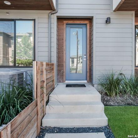 Rent this 3 bed townhouse on 102 Tendick Street in San Antonio, TX 78209