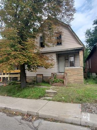 Rent this 3 bed house on Oakland Street in Detroit, MI 48203