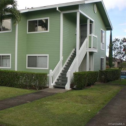 Rent this 2 bed townhouse on Kiopaa Pl in Mililani Town, HI