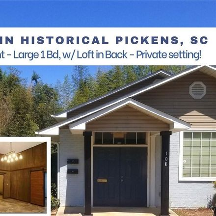 Rent this 2 bed loft on 108 West Baker Street in Pickens, SC 29671