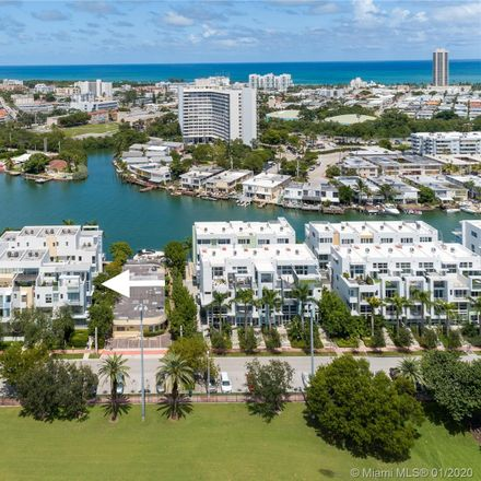 Rent this 3 bed townhouse on 163 North Shore Drive in Miami Beach, FL 33141
