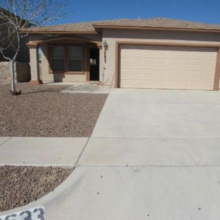 Rent this 3 bed apartment on 10617 Silvercloud Drive in El Paso, TX 79924