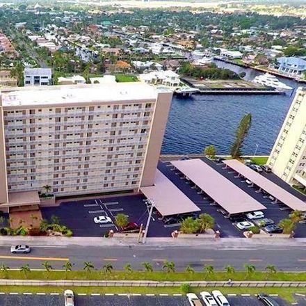 Rent this 2 bed condo on 299 North Riverside Drive in Pompano Beach, FL 33062