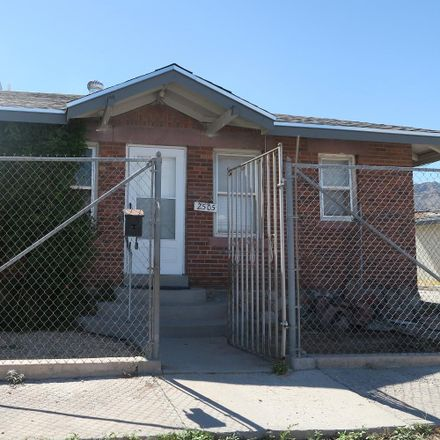 Rent this 1 bed apartment on San Marcial St in El Paso, TX