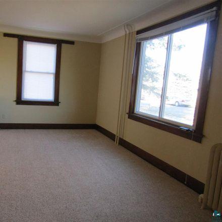 Rent this 1 bed duplex on 2317 Ogden Avenue in Superior, WI 54880