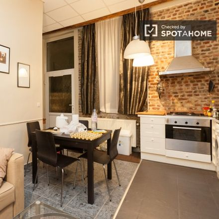 Rent this 1 bed apartment on Le Fuse in Rue de la Philanthropie - Menslievendheidsstraat, 1000 Ville de Bruxelles - Stad Brussel