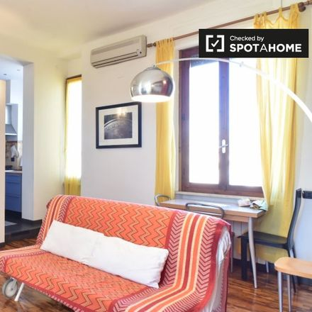 Rent this 1 bed apartment on Porta Portese in Via Ippolito Nievo, 00120 Rome RM