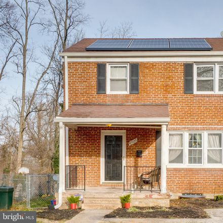 Rent this 3 bed house on 6025 Highgate Drive in Baltimore, MD 21215