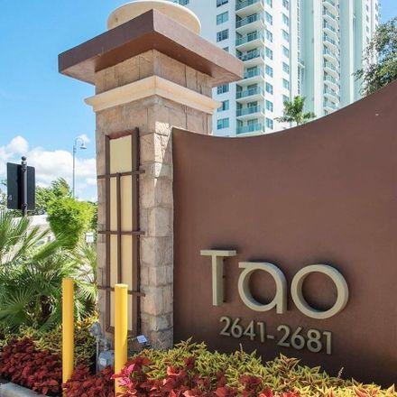 Rent this 2 bed condo on 2681 North Flamingo Road in Sunrise, FL 33323