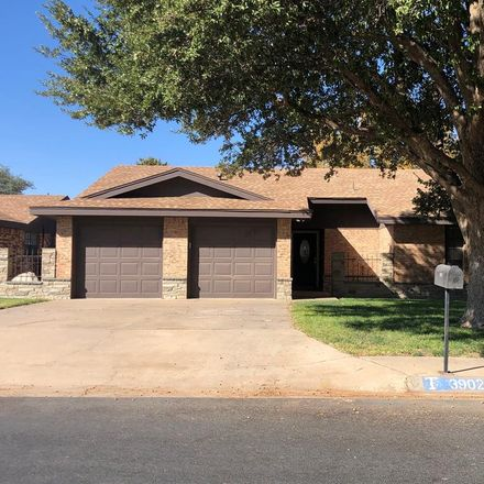 Rent this 3 bed house on 3902 Permian Court in Midland, TX 79703