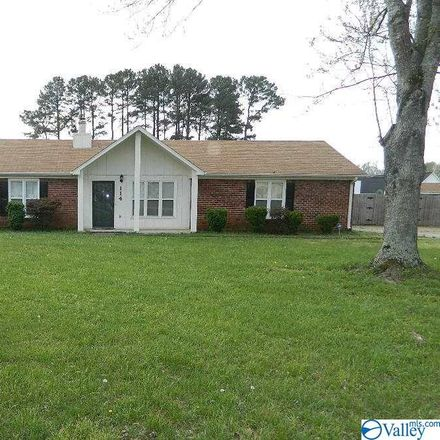 Rent this 3 bed house on Callaway Ln in Meridianville, AL