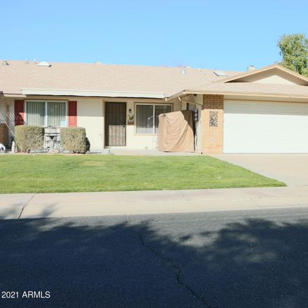 Rent this 2 bed apartment on 9520 West Sandstone Drive in Sun City, AZ 85351
