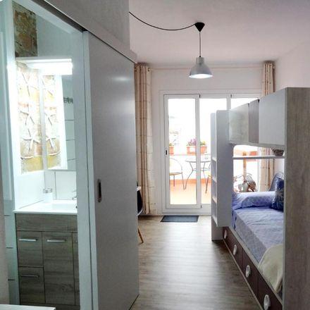 Rent this 1 bed apartment on Carrer de l'Aigua in 08870 Sitges, Spain