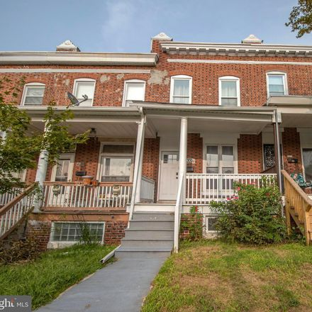 Rent this 3 bed townhouse on 4327 Falls Road in Baltimore, MD 21211