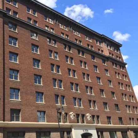 Rent this 1 bed apartment on 52 Lyon Street Northwest in Grand Rapids, MI 49503