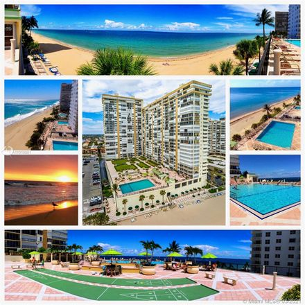 Rent this 3 bed condo on 4280 Galt Ocean Drive in Fort Lauderdale, FL 33308