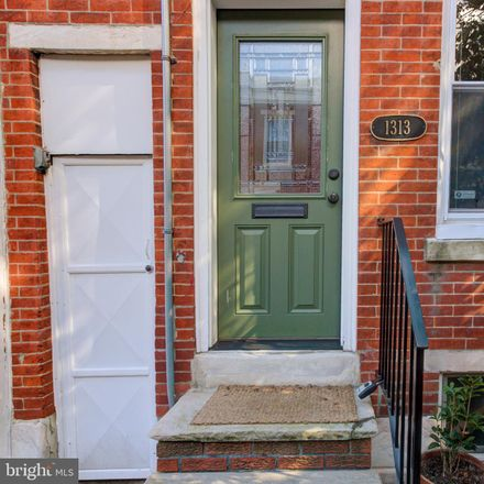 Rent this 2 bed townhouse on 1313 South Alder Street in Philadelphia, PA 19147