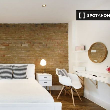 Rent this 1 bed apartment on Harringay Stadium Slopes in Stanhope Gardens, London N4 1HZ