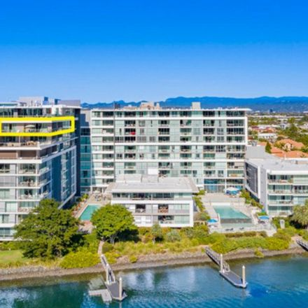 Rent this 3 bed apartment on 1805/33 T E PETERS Drive