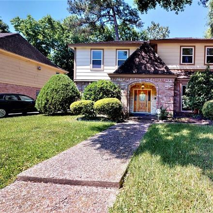 Rent this 4 bed house on 15411 Pebble Bend Dr in Houston, TX