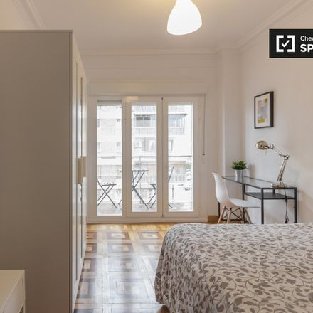 Rent this 5 bed apartment on BBVA in Plaza de Cataluña, 28001 Madrid
