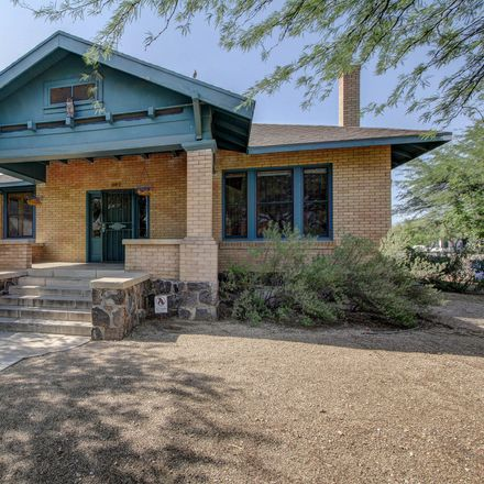 Rent this 3 bed house on 502 East 1st Street in Tucson, AZ 85705
