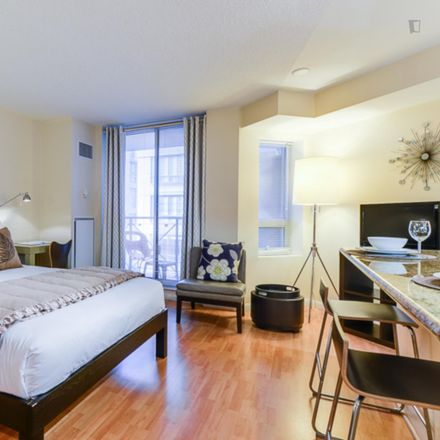 Rent this 0 bed apartment on University Plaza in Richmond Street West, Old Toronto