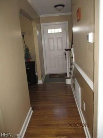 Rent this 4 bed house on 351 Brunell Drive in Hampton City, VA 23666