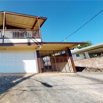 Rent this 3 bed house on 630 Hooiki Street in Pearl City, HI 96782