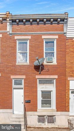 Rent this 3 bed townhouse on 1644 Darley Avenue in Baltimore, MD 21213