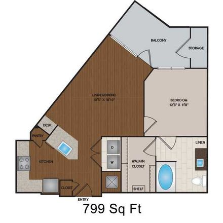 Rent this 1 bed apartment on 4950 North 44th Street in Phoenix, AZ 85018