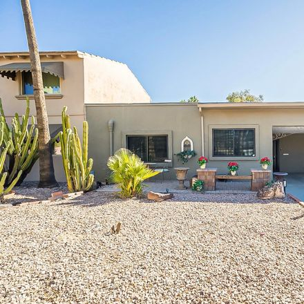 Rent this 2 bed townhouse on North Miller Road in Scottsdale, AZ 85251