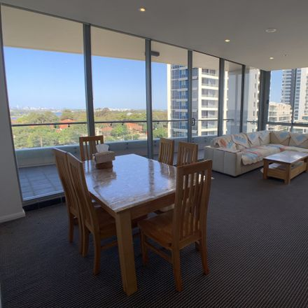 Rent this 3 bed apartment on 906/87 Shoreline Drive