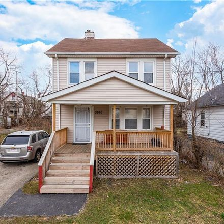 Rent this 3 bed house on 3867 East 142nd Street in Cleveland, OH 44120