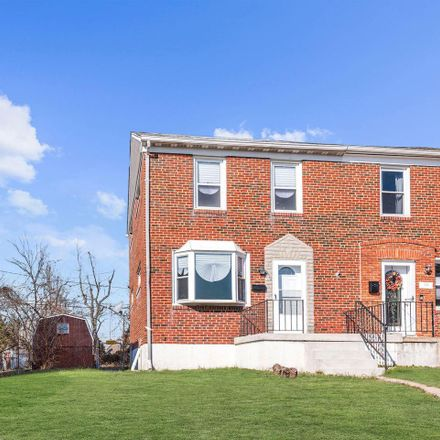 Rent this 3 bed townhouse on 3412 Fleetwood Avenue in Baltimore, MD 21206