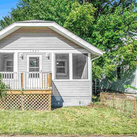 Rent this 2 bed house on 1227 Queen Street in South Bend, IN 46616