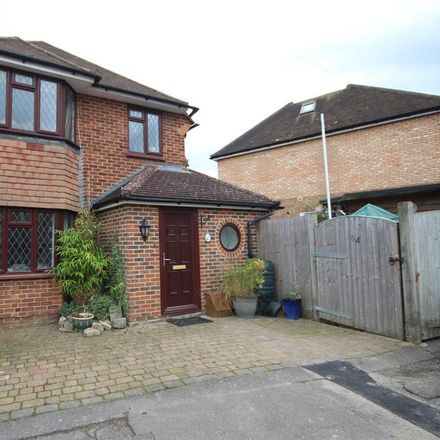 Rent this 4 bed house on 80 Waltham Avenue in Guildford GU2 9QE, United Kingdom