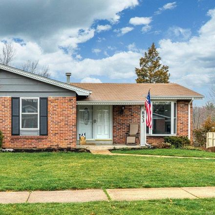 Rent this 3 bed house on Forest Village Dr in Ballwin, MO