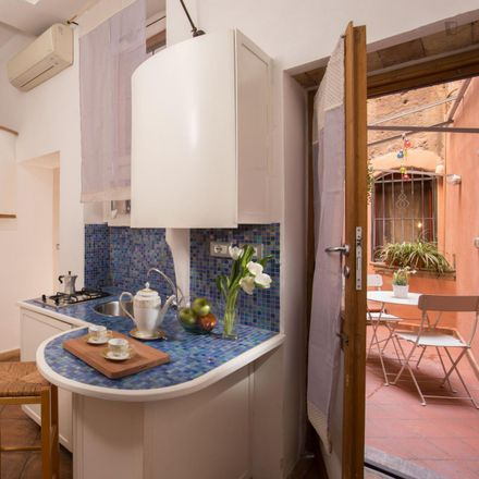 Rent this 1 bed apartment on Rione XIII Trastevere in Via Garibaldi, 00120 Rome RM
