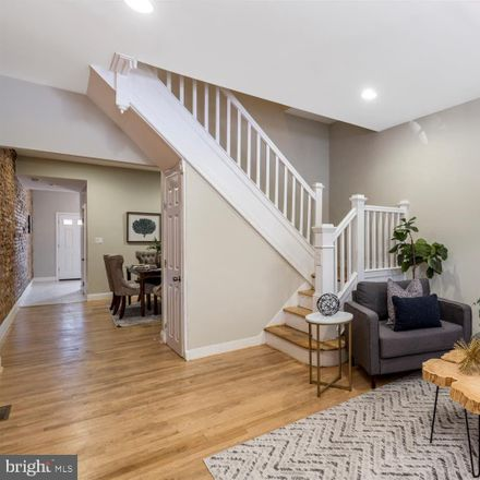 Rent this 3 bed townhouse on 1622 North Bentalou Street in Baltimore, MD 21216