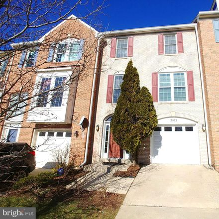 Rent this 3 bed townhouse on 2103 Hounds Run Pl in Silver Spring, MD